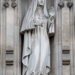 Княгиня Елизавета Федоровна на Вестминстерском аббатстве