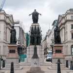 Монумент Крымской войны и русский Министр обороны Великобритании